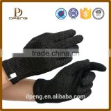 Smartphone knitting hand Gloves plain simple design Winter Warm high quality glove China Manufacturer