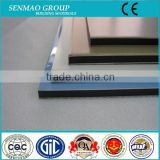 acp cladding sheet wood grain finishing plastic composite exterior wall material aluminum laminated panel