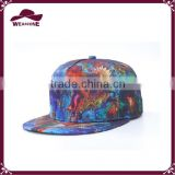 2016 new spring fashion bb caps with special printing pattern