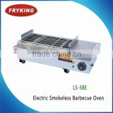 outdoor electric smokeless oven barbecue grill