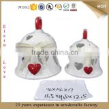 valentine gift desk bell decoration