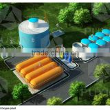 Chinese Puxin Biogas Heating System, Biogas Plant to Generate Electricity, Application Biogas Plant