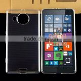 2015 New design ultra thin transparent clear tpu gel silicone for Microsoft Nokia Lumia 950 XL case china wholesale