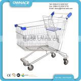 Metal Shopping Trolley For Elderly, Supermarket Shopping Trolley With Seat, Foldable Shopping Trolley Cart
