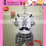 2015 Summer Fashion Boutique Pure Cotton Baby Boy Brand Name Clothes