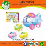 Colorized Plastic cartoon toy for kids