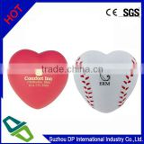 PU Foam American Football heart Shaped Stress Reliever, Stress Ball, Release Ball, Squeeze Ball