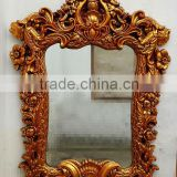 antique decorative resin golden frame with different size and color