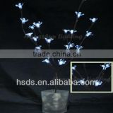 Hot Sale 20 Count Battery Operated Garden Decorative Crystal Flower Branch LED Lights 33''