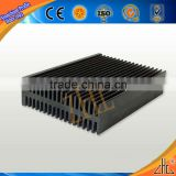 Hot! OEM small aluminum radiator, 6063 aluminum radiator fins 5mm, cnc clear anoidized radiator aluminum