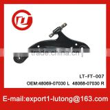 Top quality suspension system auto spare parts lower control arm for toyota CAMRY OEM:48069-06090 L 48068-06090 R