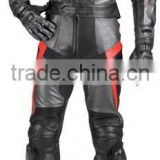 Motorcycle Leather Racing Suit Black