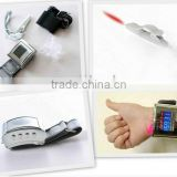 wrist type laser therapy instrument for high blood pressure therapy