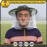 100% dacron cotton protective suit hat veil honey bee protective clothing