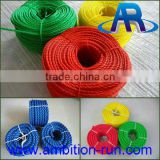 Wholesale 8 strand braided PP/PE/Nylon mooring rope from factory with low price