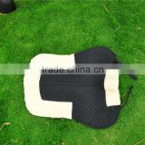 wool felt half white English horse products saddle pad