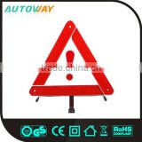 ABS reflective car safety warning triangle safety warning flashing light warning triangle