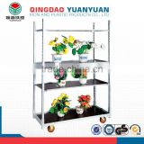 New flower pot stand, a-frame plant flower pots shelf, 3 tier metal book shelf Factory supplied directly flower pot stand