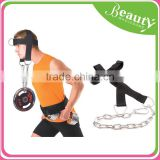 Fully adjustable Nylon Strap Head Harness Belt Neck Weight Lifting Strength Exercise Strap Fitness Weights Sport Body Building