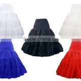 50s wholesale long ruffle tulle big puffy petticoat