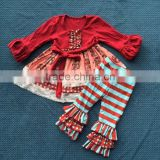 Hot Sale Brand Baby Clothing Set 2014 Fall Sets Elephant Sets Wholesale Toddler Girls Boutique Clothing Set QL-265