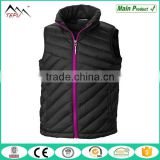 2016 Winter Style Keep Warm Sleeveless Jacket Girl's Padded Vest