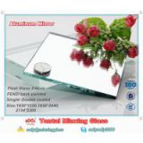 China manufacturer 31 years Fenzi coated building Float Glass decorative large aluminum mirror sheet