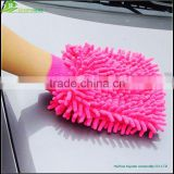 Microfiber chenille glove for cleaning wholesale OEM Manufacture Factory chenille car wash glove