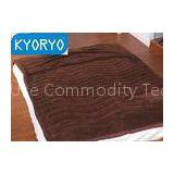 Brown Color Heating Foot Mattress Mat Use for Chilly Winter Night Sleeping