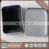Good quality lighter tinbox package,foam