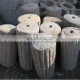 long history old millstones for decorative