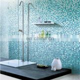 Blue select glass and stone mosaic wall tiles
