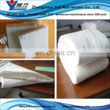 50%durable and washable polyester/cotton batting for bedding