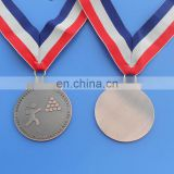 antique copper first champion prize medal for shot put competition