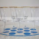 Restaurant Supplies Serving Tray Clear Acrylic Champagne Tray