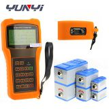 digital handheld clamp on ultrasonic water flow indicator