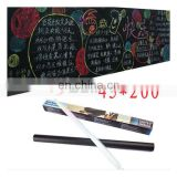 45*200cm Blackboard Slate Black Board Chalk Wall Mural Sticker Decal