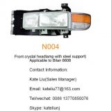 Nissan Civilian 6608 Front crystal headlamp with steel support(N004)