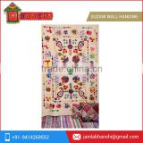Handmade Indian Suzani Bedding Twin Suzani Blanket Fabric Quilt Throw Suzani Wall Hanging