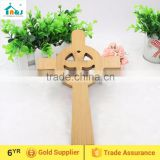Religious wall hanging bamboo cross