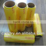 Super transparent PE/PVC cling film