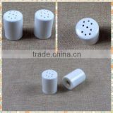 "Porcelain ""S"" Design Salt and Pepper Shaker                                                                         Quality Choice"
