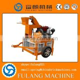 Mobile Compressed Earth Interlock Brick Making Machine with Car Tire                                                                         Quality Choice