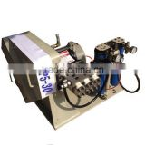 Triplex pump for high pressure water jet cutting, water jet direct driving pump