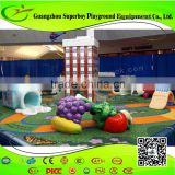 Eco-friendly Foam Sculpted Baby Indoor Soft Play amusement Equipment 1411-29F