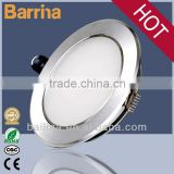Indoor decoration 4inch recessed led down light, IP44 dimmable ultra slim down light led fixture