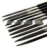 high quality steel needle files set