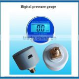 3V battery back mounted 0-40Mpa 40MM Digital pressure gauge for dry air and dry air and non-Conductive liquid