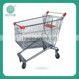 Hot sale colourful food service trolley prices made in China
