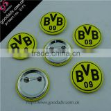 new product for 2013 fashionable high quality with low price plastic button badge/name tag holders